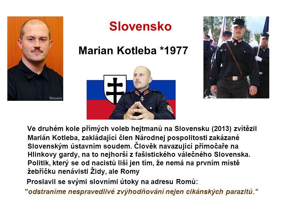 Slovensko Marian Kotleba *1977