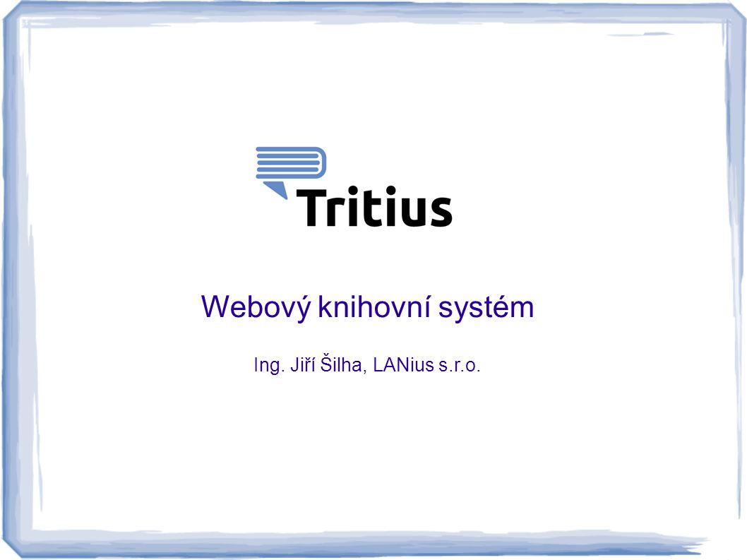 Webový knihovní systém