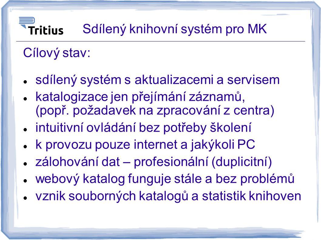 Sdílený knihovní systém pro MK