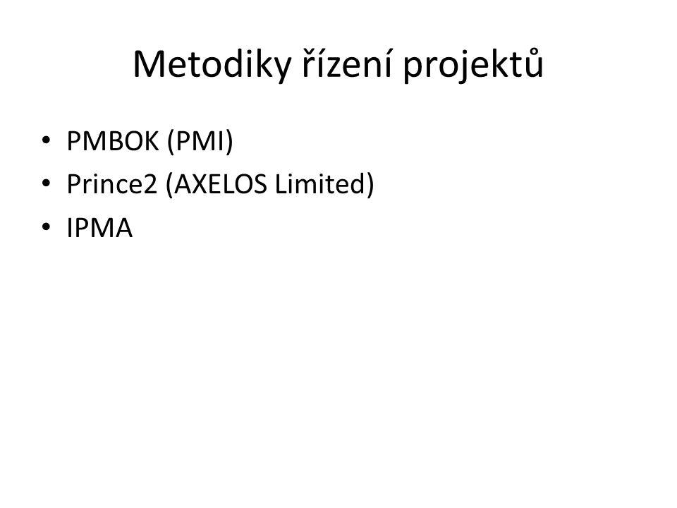Metodiky řízení projektů