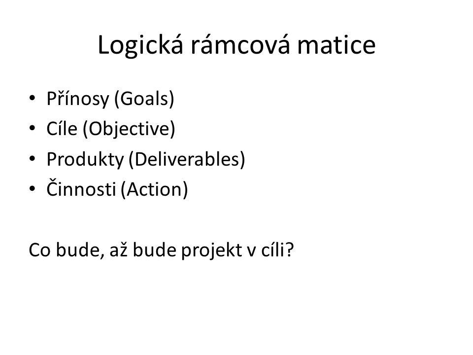 Logická rámcová matice