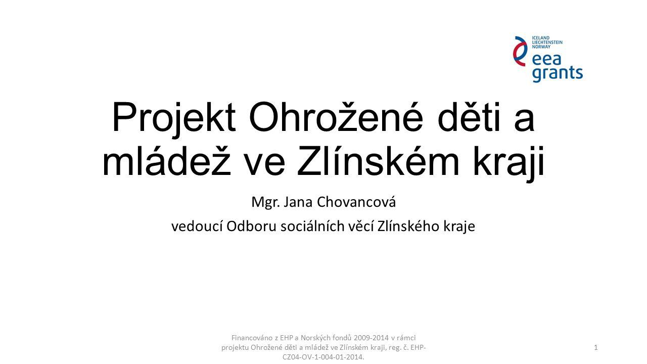 Projekt Ohrožené děti a mládež ve Zlínském kraji