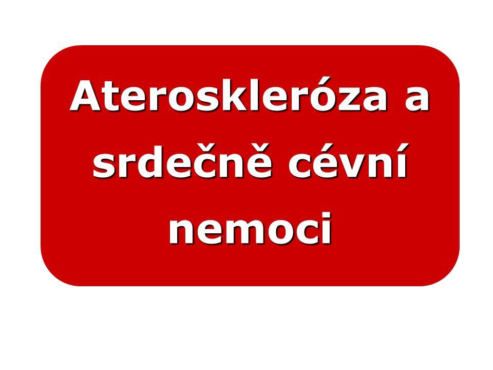 Ateroskleróza a srdečně cévní nemoci
