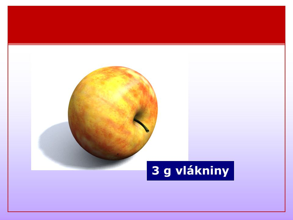 3 g vlákniny