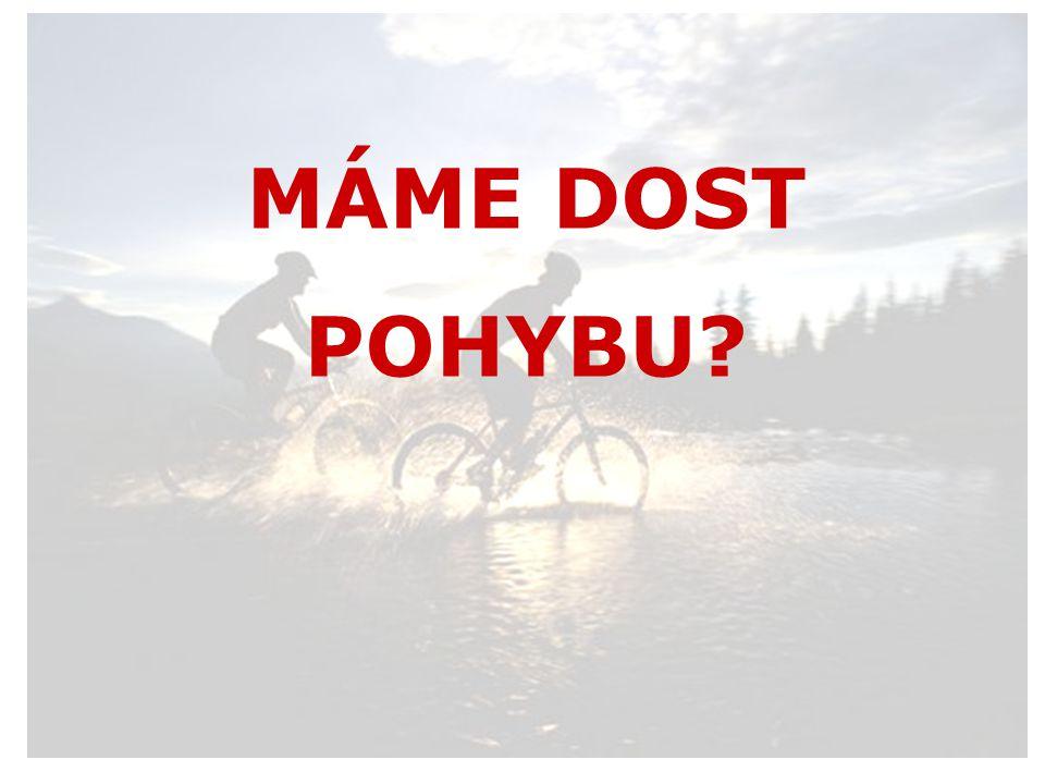 MÁME DOST POHYBU