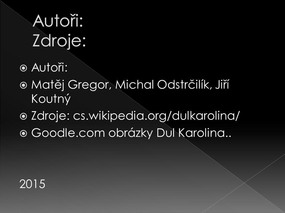 Autoři: Zdroje: Autoři: Matěj Gregor, Michal Odstrčilík, Jiří Koutný