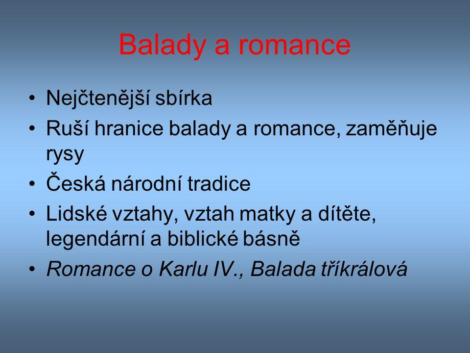 Balady a romance Nejčtenější sbírka