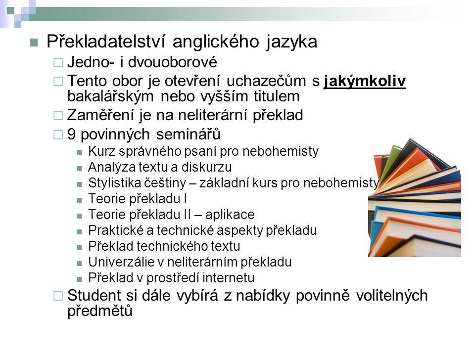 Překladatelství anglického jazyka