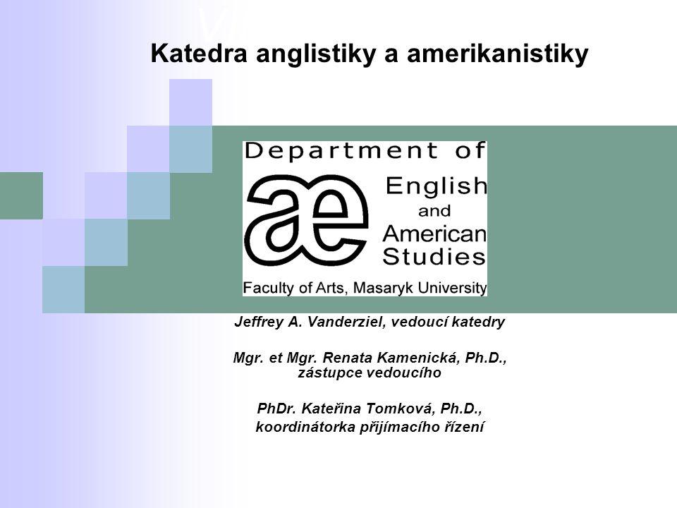Vítáme Vás na Katedra anglistiky a amerikanistiky