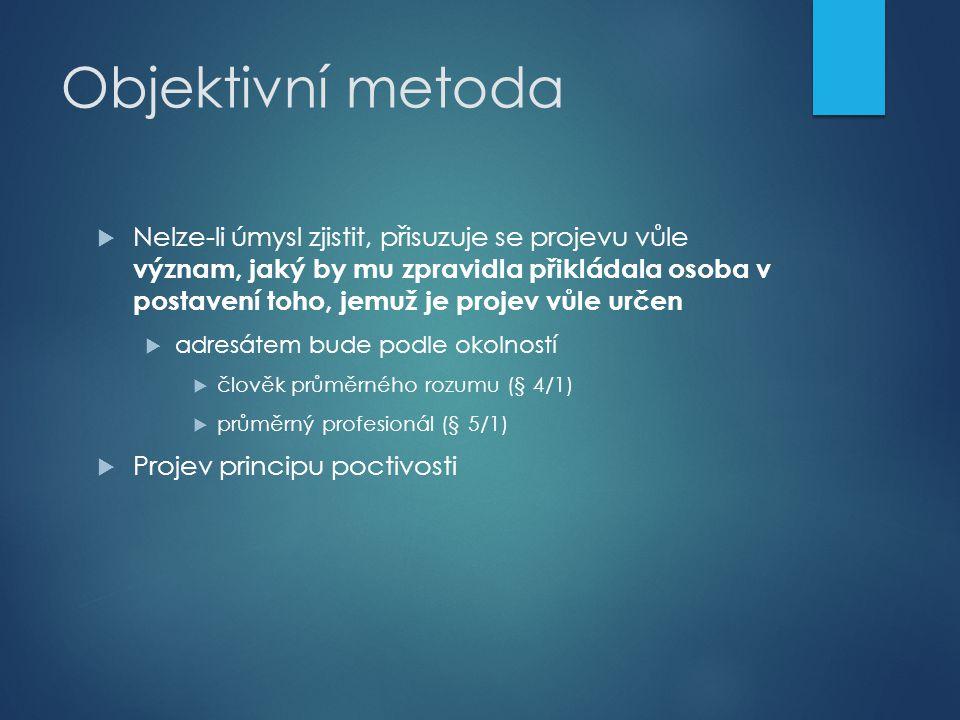 Objektivní metoda