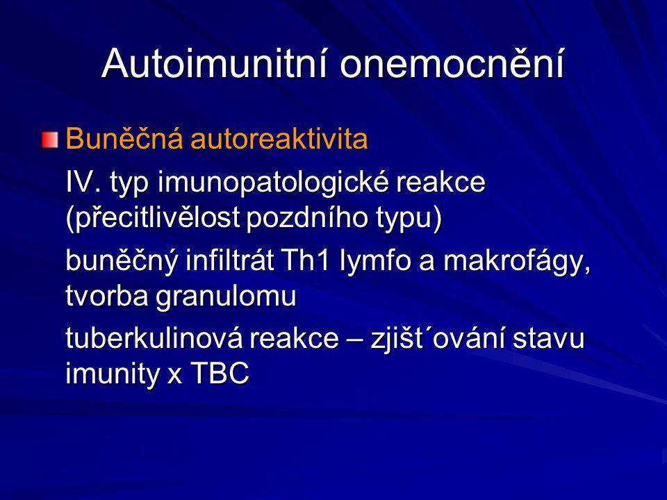 Autoimunitní onemocnění