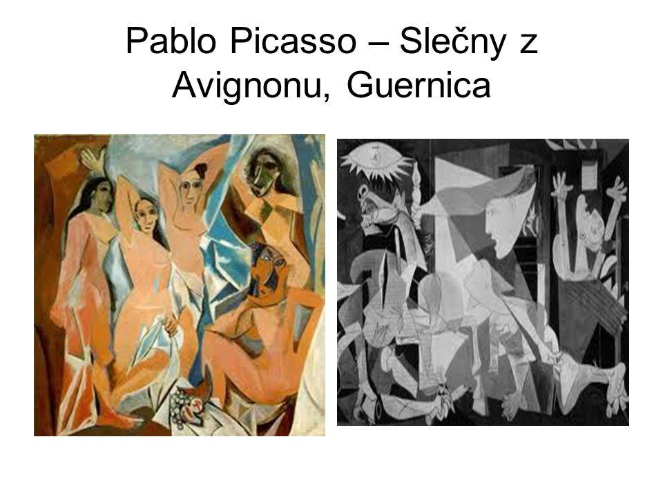 Pablo Picasso – Slečny z Avignonu, Guernica