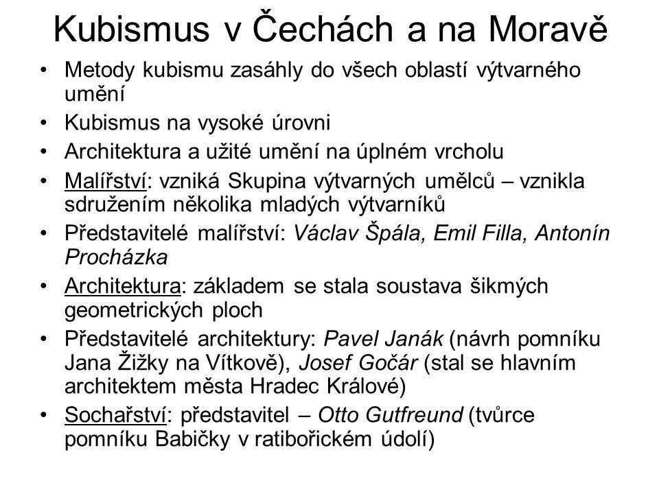 Kubismus v Čechách a na Moravě