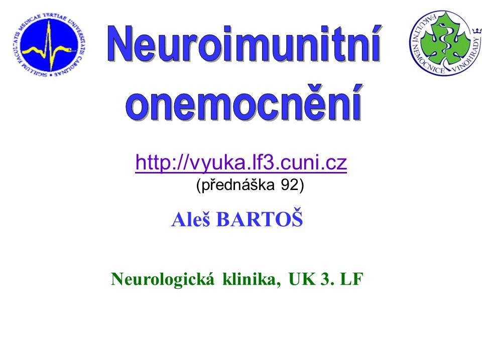 Neurologická klinika, UK 3. LF