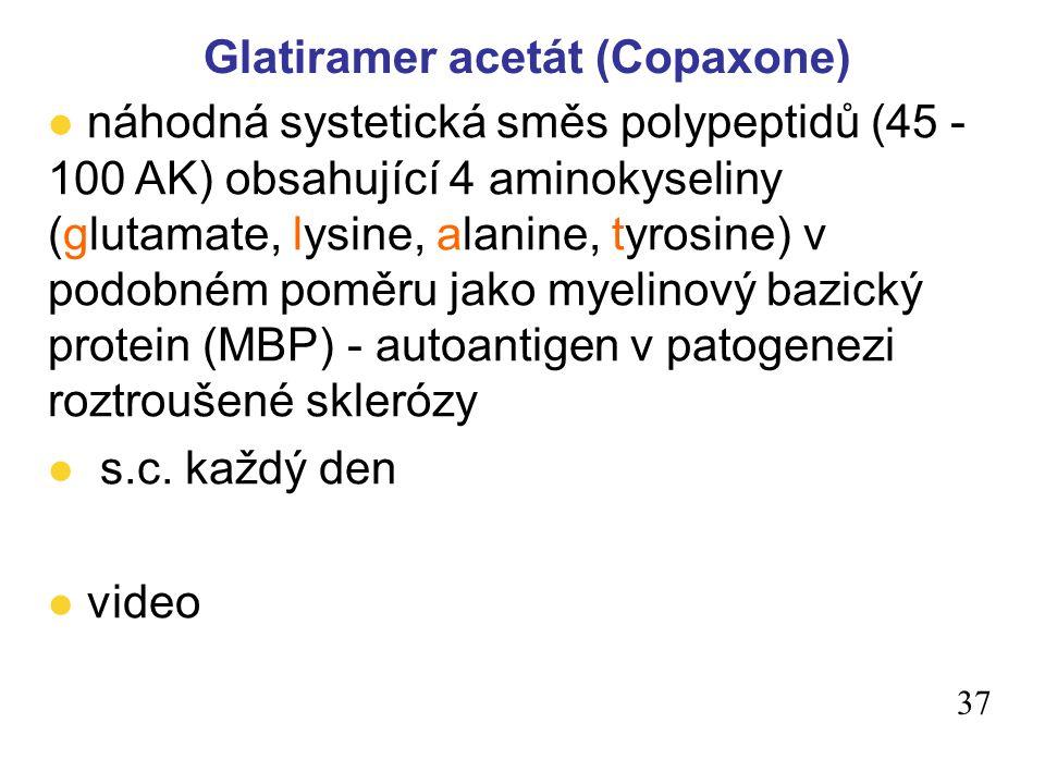 Glatiramer acetát (Copaxone)