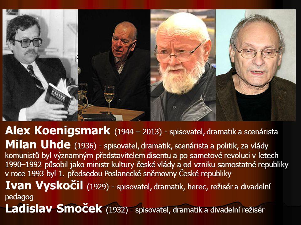 Alex Koenigsmark (1944 – 2013) - spisovatel, dramatik a scenárista