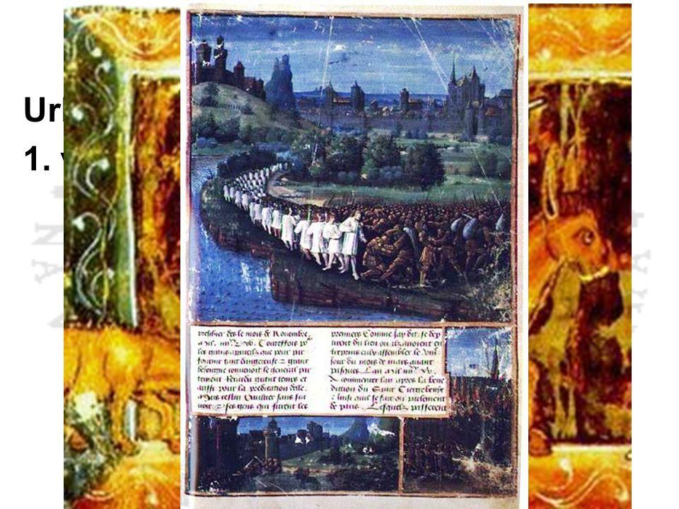 První křížová výprava Urban II. - Clermont 1095 1. výprava 1096 – 1099