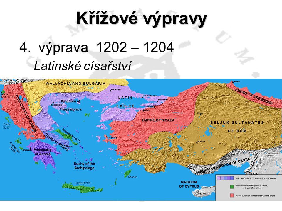 Křížové výpravy výprava 1202 – 1204 výprava 1228 – 1229