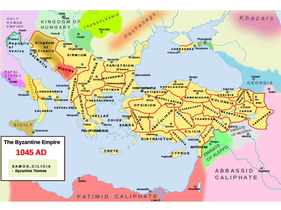 SELDŽUCKÁ ŘÍŠE Polomytický Seldžuk Beg – přivedl Turky ze střední Asie (Chorezm) Zakladatel říše Torgul Beg (vnuk) 1037 - 1063.
