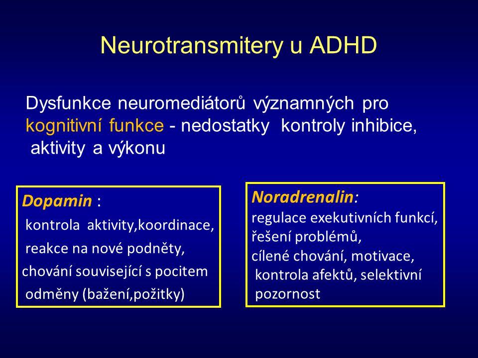 Neurotransmitery u ADHD