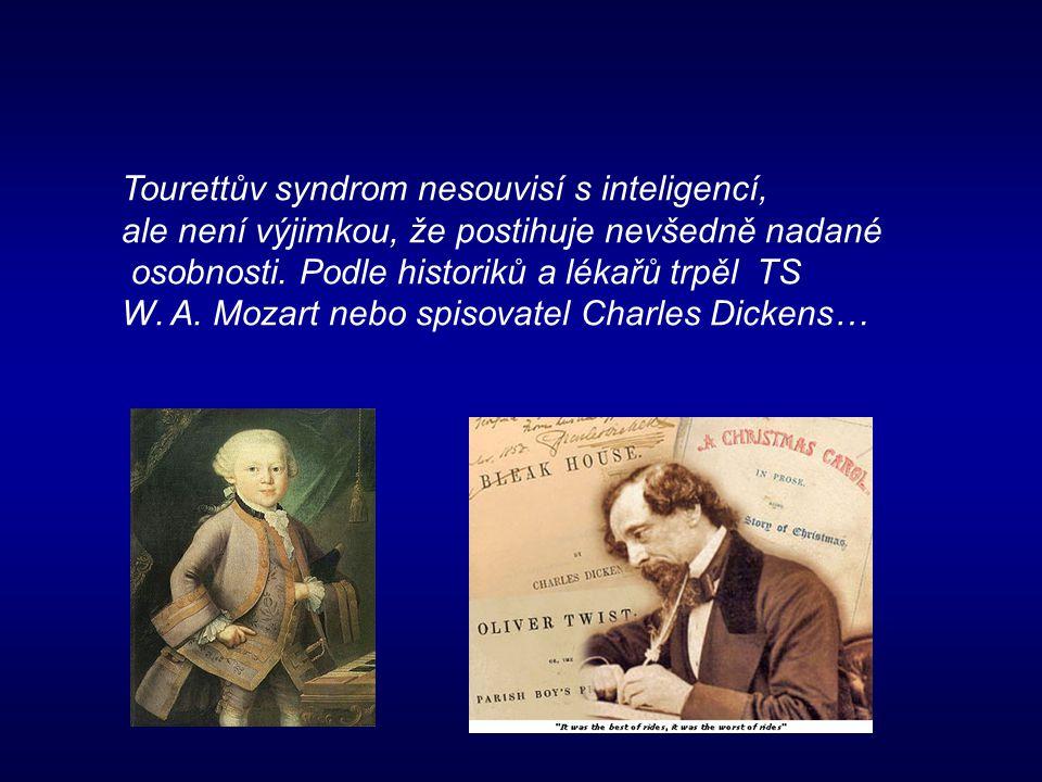 Tourettův syndrom nesouvisí s inteligencí,