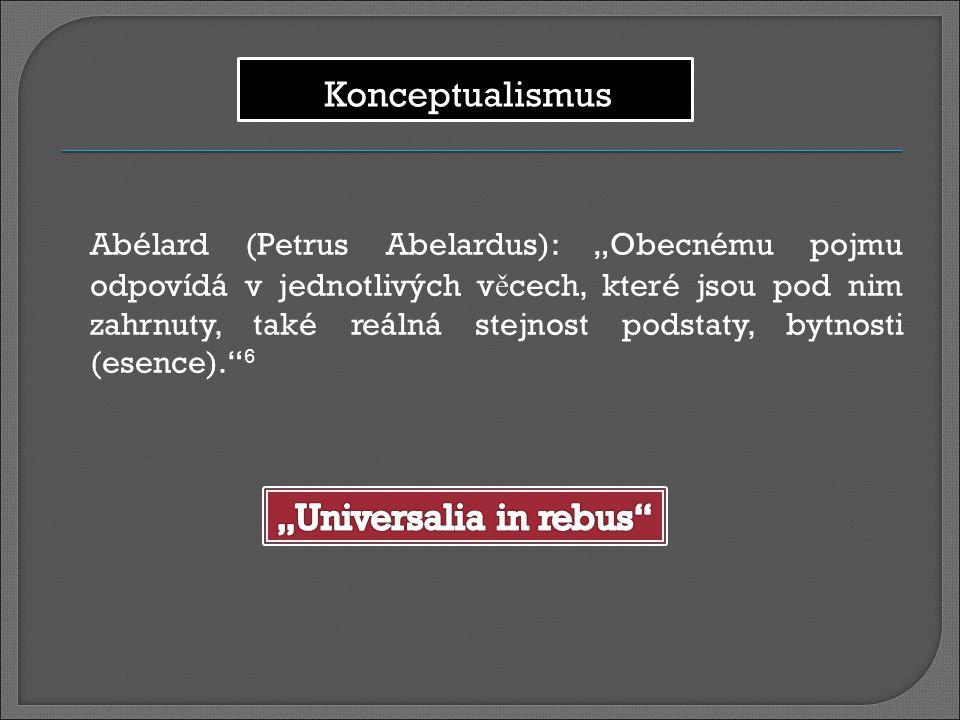 """""""Universalia in rebus"""