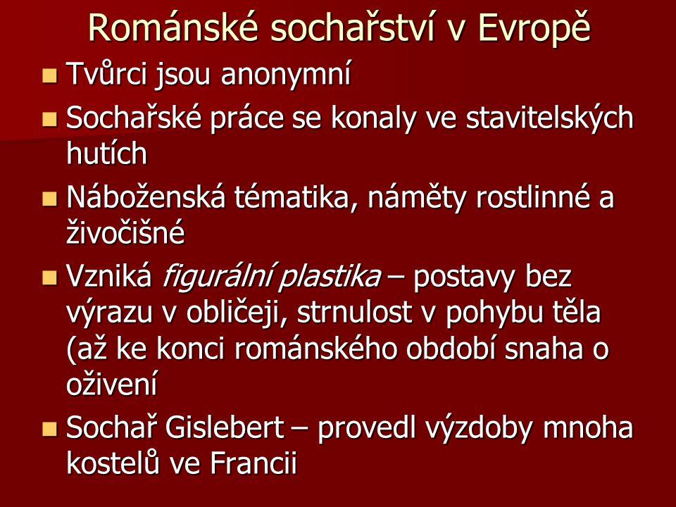 Románské sochařství v Evropě