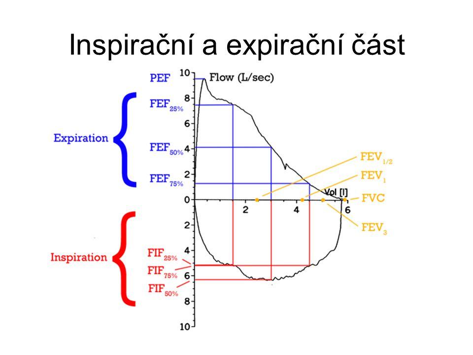 Inspirační a expirační část