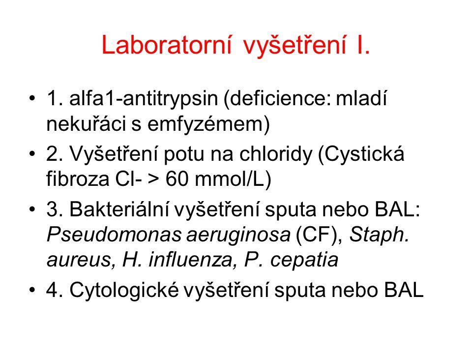 Laboratorní vyšetření I.