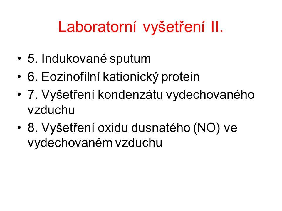 Laboratorní vyšetření II.
