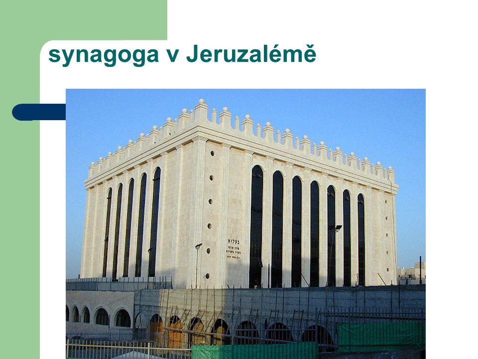 synagoga v Jeruzalémě