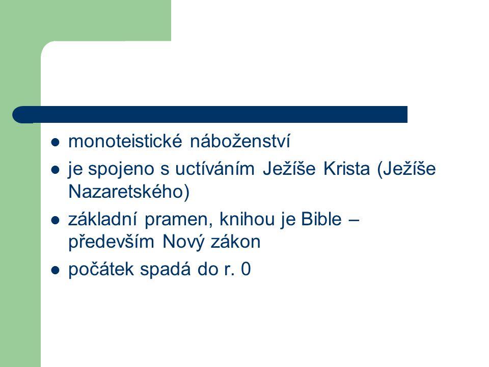 monoteistické náboženství
