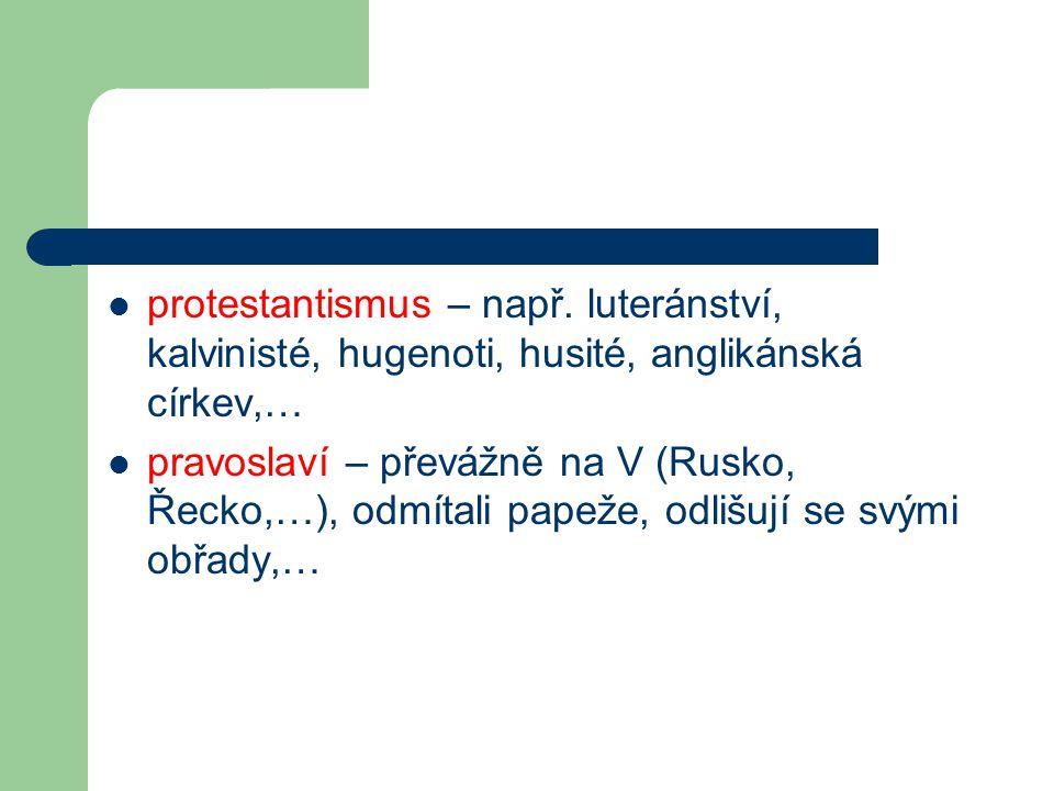 protestantismus – např