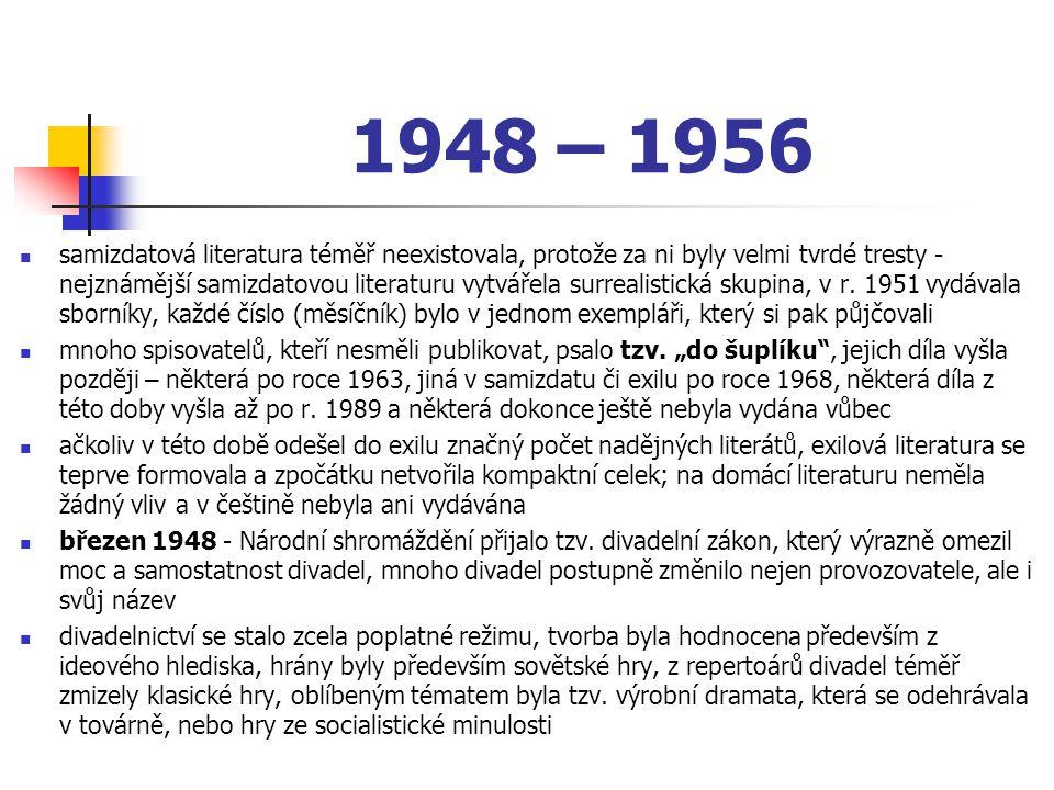 1948 – 1956