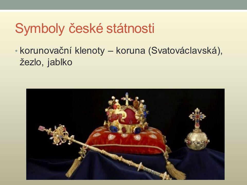 Symboly české státnosti