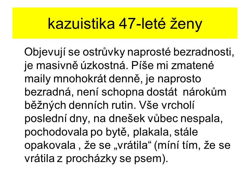 kazuistika 47-leté ženy