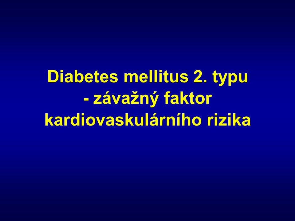 Diabetes mellitus 2. typu - závažný faktor kardiovaskulárního rizika