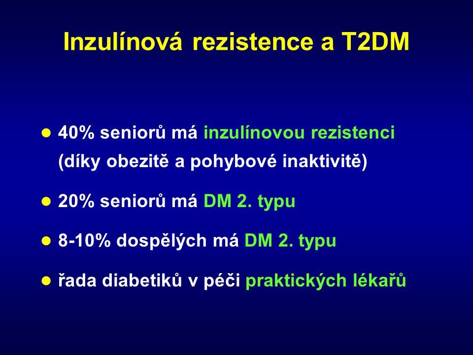 Inzulínová rezistence a T2DM