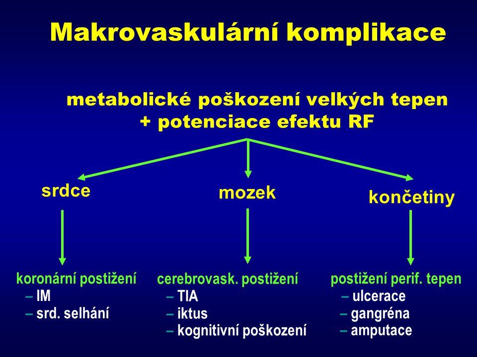 Makrovaskulární komplikace