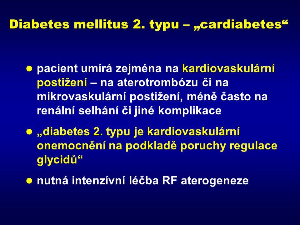 """Diabetes mellitus 2. typu – """"cardiabetes"""