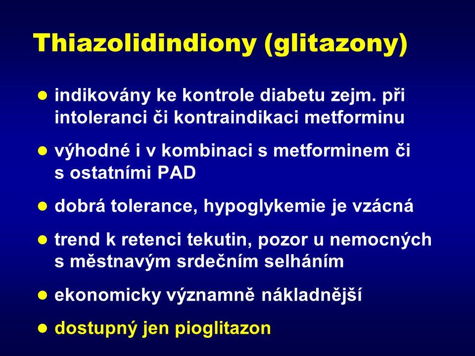 Thiazolidindiony (glitazony)