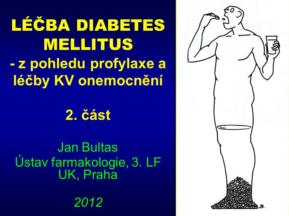 Jan Bultas Ústav farmakologie, 3. LF UK, Praha 2012