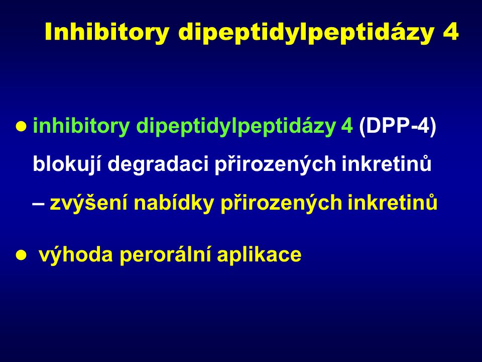 Inhibitory dipeptidylpeptidázy 4