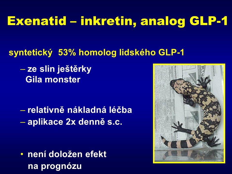 Exenatid – inkretin, analog GLP-1