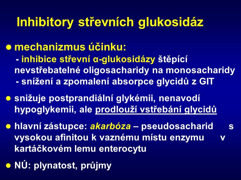 Inhibitory střevních glukosidáz