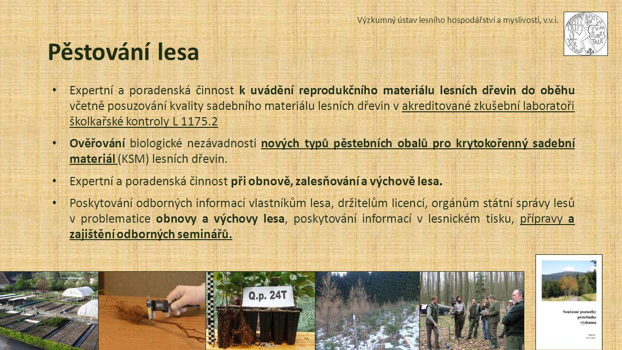 Výzkumný ústav lesního hospodářství a myslivosti, v.v.i.