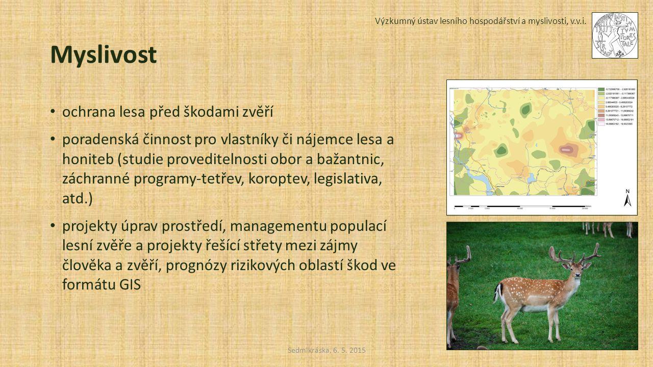 Myslivost ochrana lesa před škodami zvěří