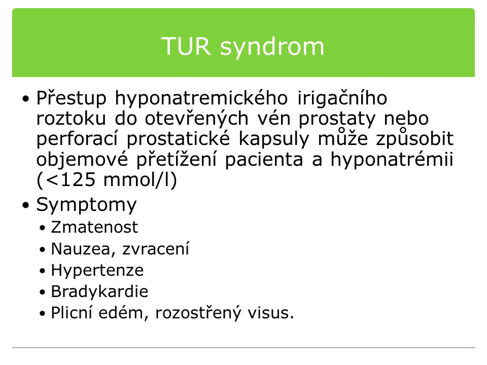 TUR syndrom