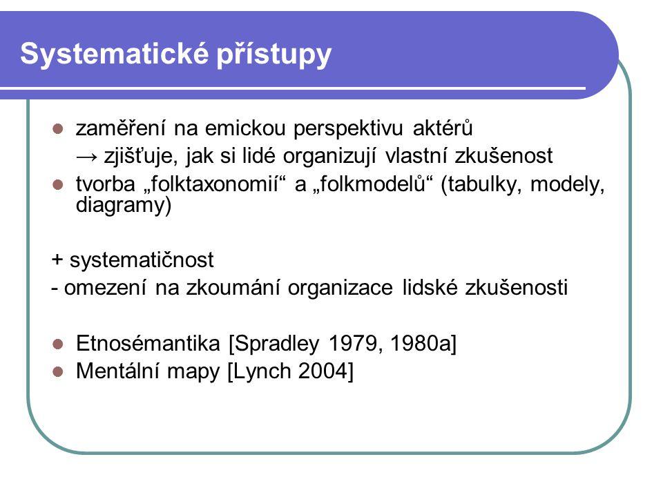Systematické přístupy