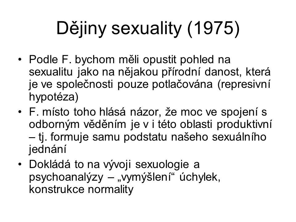Dějiny sexuality (1975)